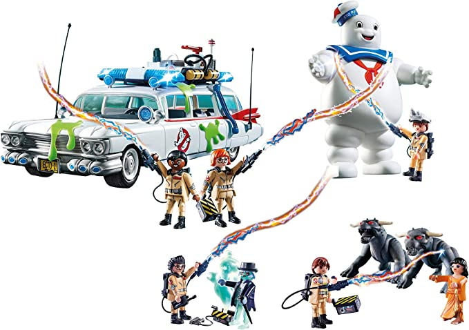 Outletdelocio Set Completo Playmobil Ghostbusters. Coche ...