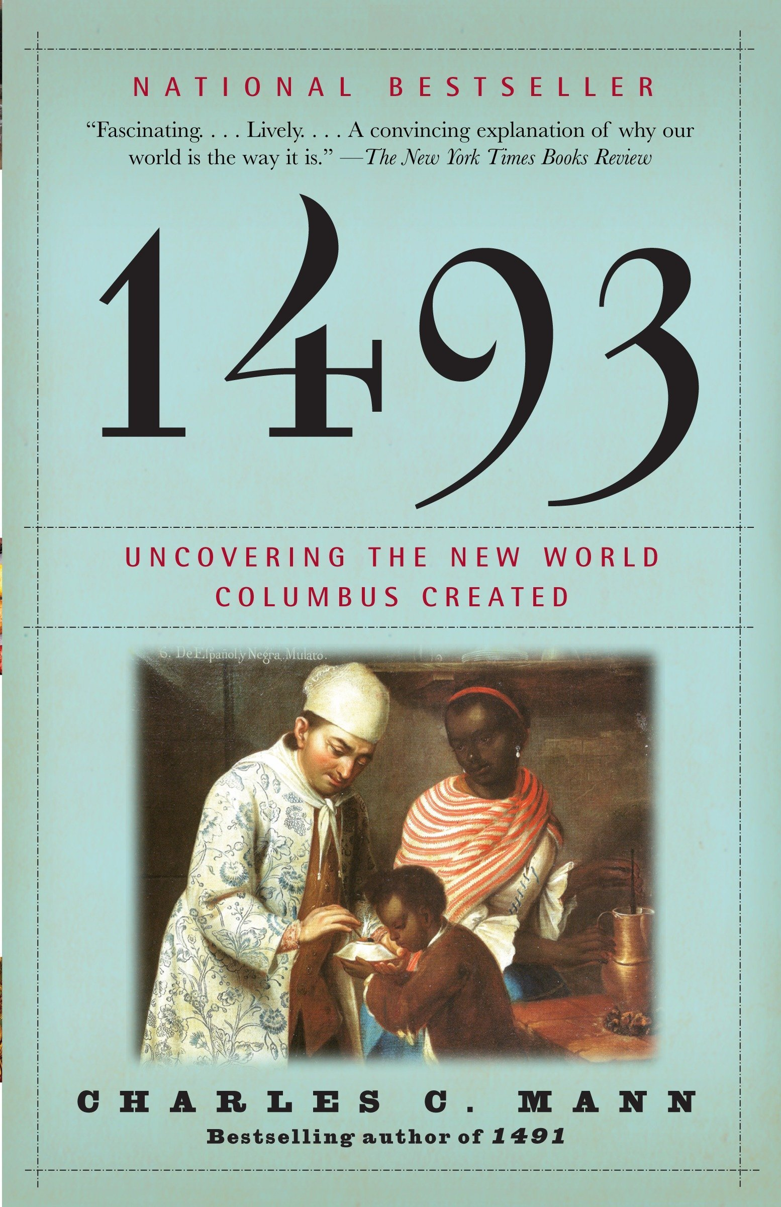 1493: Uncovering the New World Columbus Created: Charles C. Mann:  9780307278241: Amazon.com: Books