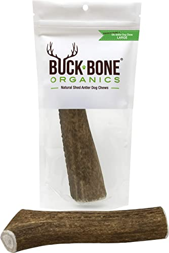 Buck-Bone-Organics-Elk-Antlers-for-Dogs,-Premium-Grade-A-Elk-Naturally-Sourced-from-Montana