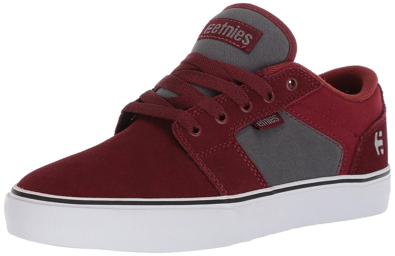 Etnies Barge LS Skate Shoe 11 D(M) US|Red/Grey
