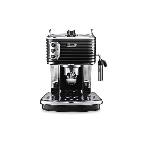 De'Longhi Scultura ECZ351BK Traditional Pump Espresso Machine - Black