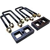 """Readylift 66-5001 1"""" Rear Block leveling Kit Toyota Tundra / Tacoma, silver"""