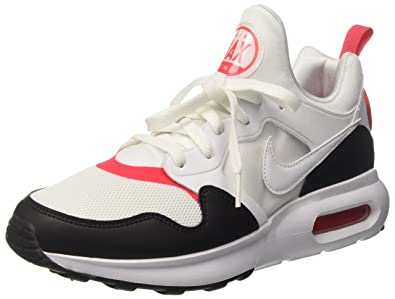 big sale 6295c 266ff Image Unavailable. Image not available for. Color  NIKE Men s Air Max Prime  White White Siren Red Black ...