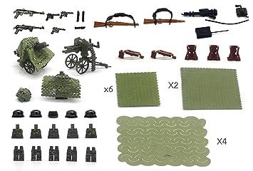 Conjunto de armas, Pak 38 50mm, cuatro cañones, tiro ...