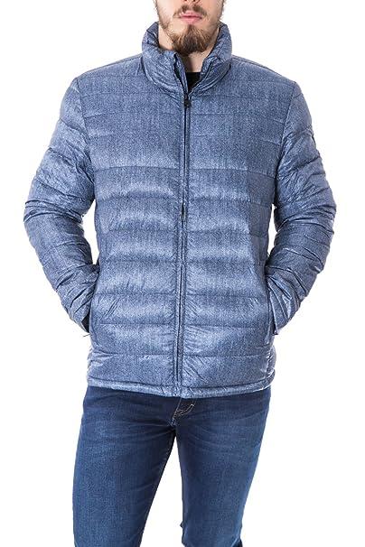 Calvin Klein Jeans - Abrigo - para Hombre Light Blue Denim XL: Amazon.es: Ropa y accesorios