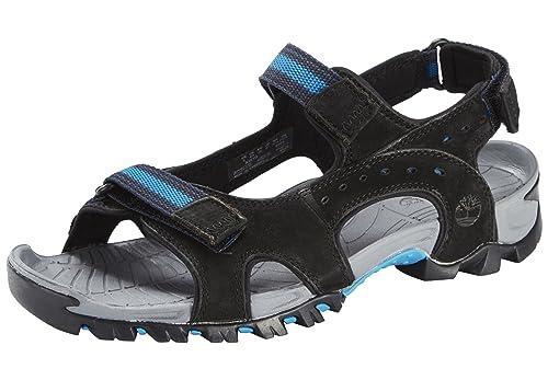 Sandal Timberland Sandalo Uomo Scarpe Ca161q Black Primavera Wakeby 0XwOnk8P