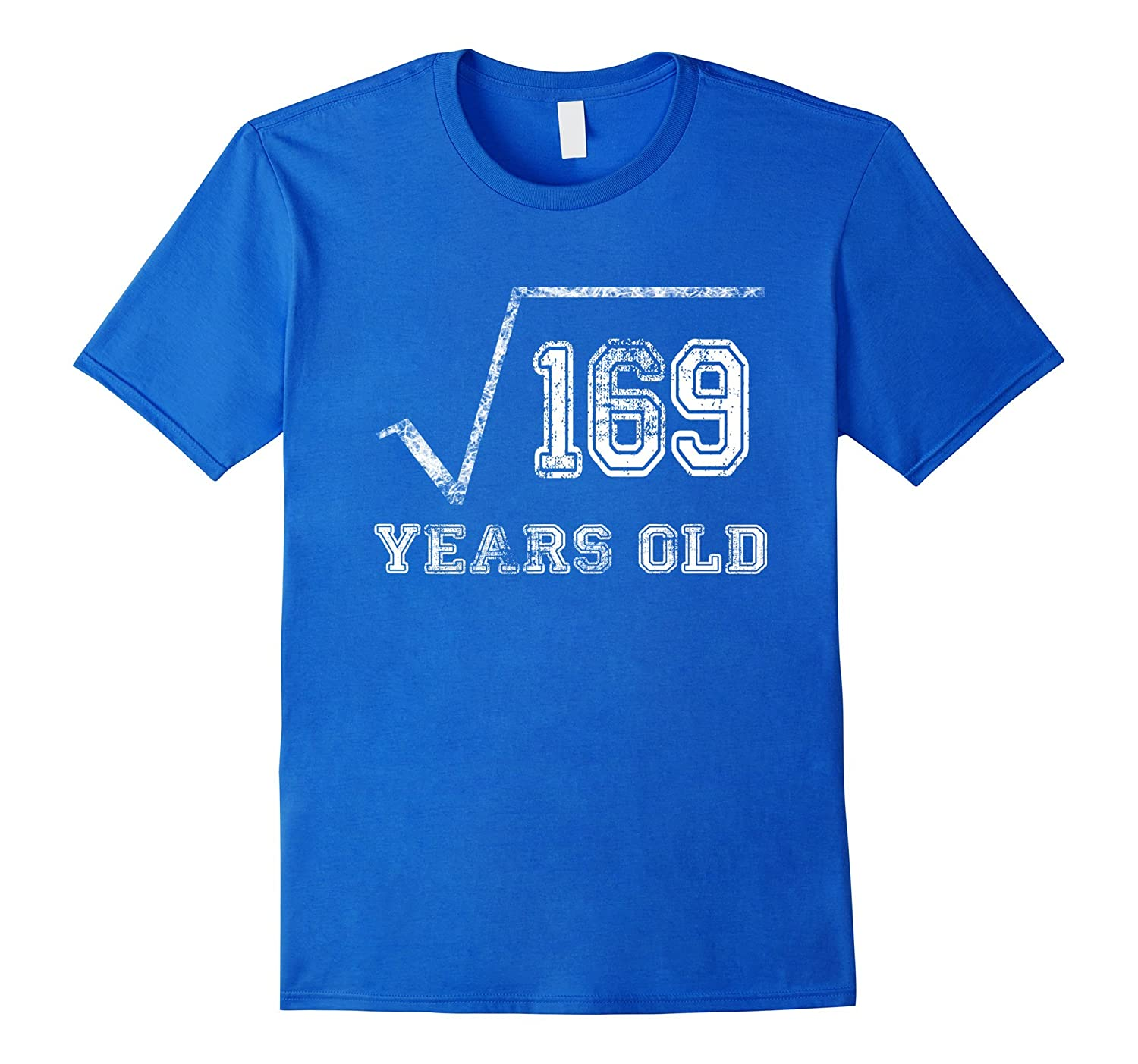 13 Year Old Square Root 169 Shirt 13rd Birthday Born 2004-CD