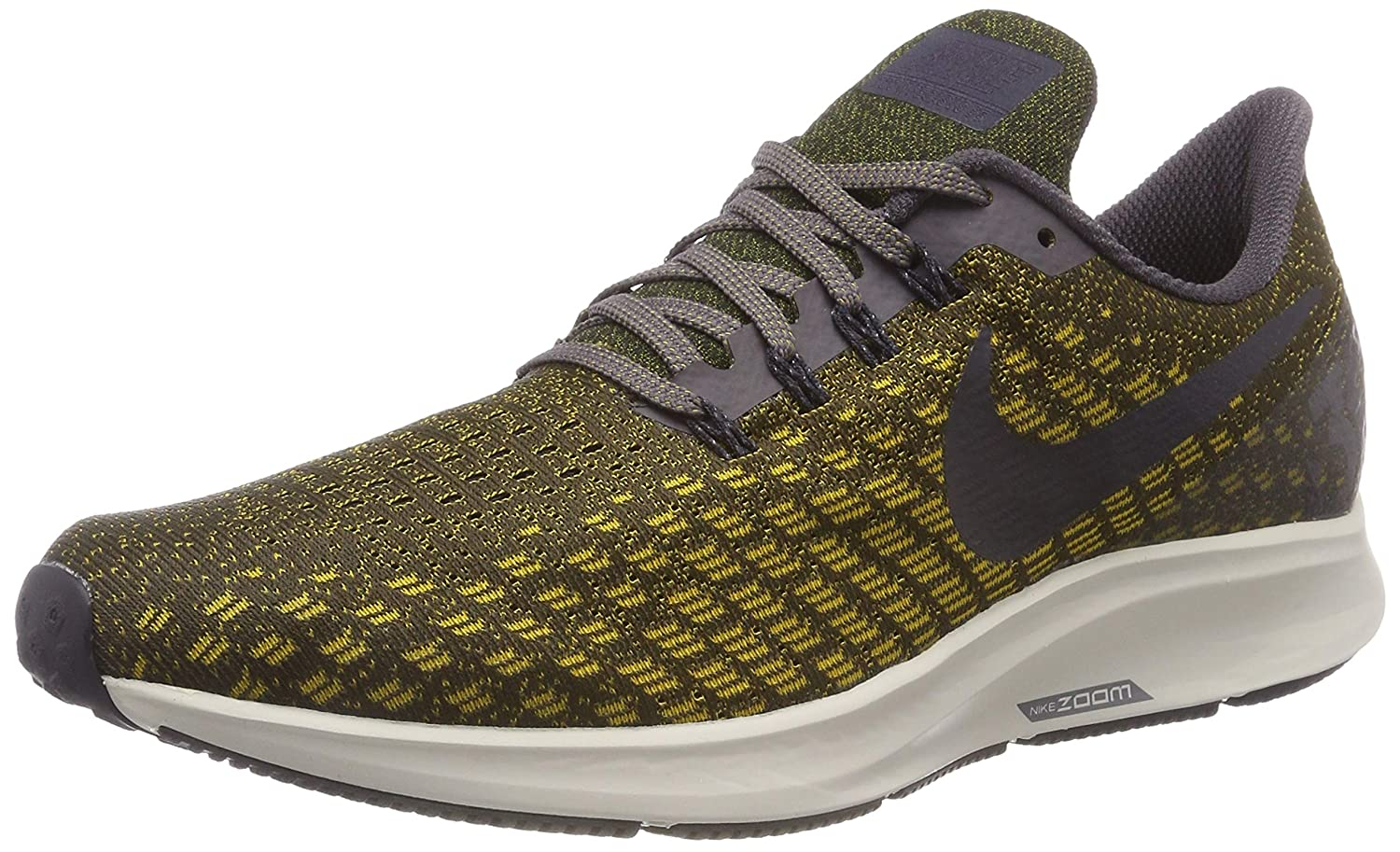Amazon.com | NIKE Air Zoom Pegasus 35 (10.5-M, Thunder Grey/Oil Grey/Dark Citron) | Athletic