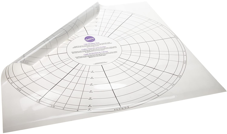 Amazon.com: Wilton Cake Dividing Chart: Food Decorating Tools ...