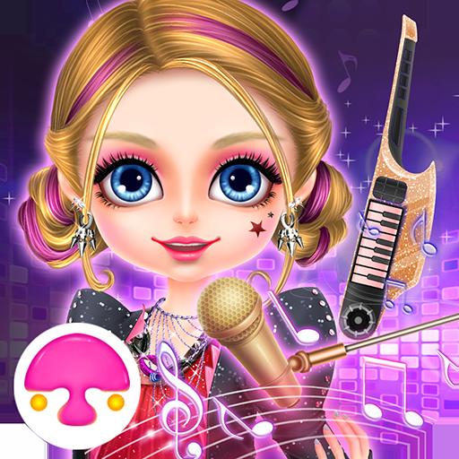 Rock Girl's Salon: Girl Game (Easy Music Themed Costumes)