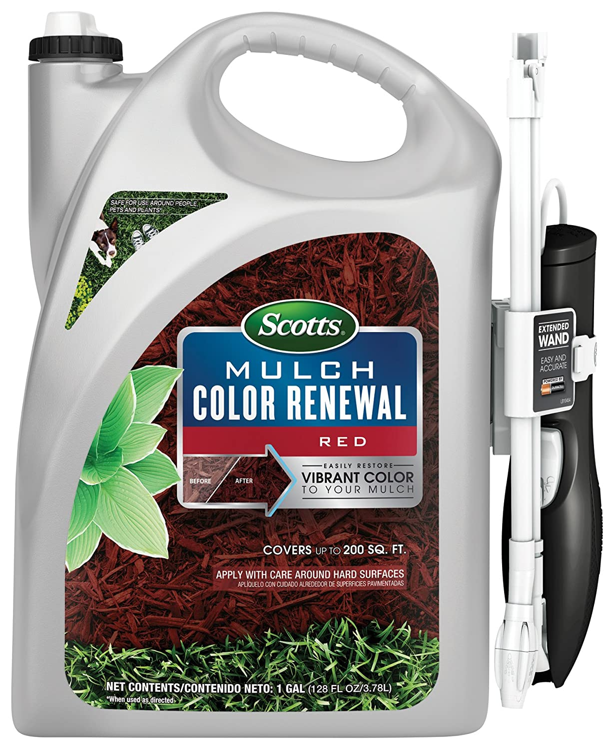 Scotts 1378104 Red Mulch Color Renewal
