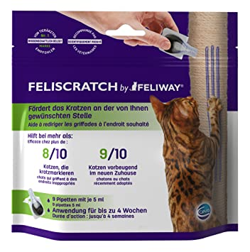 Feliway felisc Ratch pipetas, 9 x 5 ML: Amazon.es: Productos para mascotas