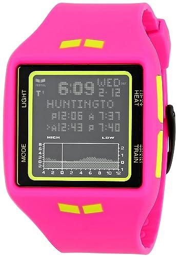 Vestal BRG019 - Reloj para mujeres, correa de poliuretano color rosa: Vestal: Amazon.es: Relojes