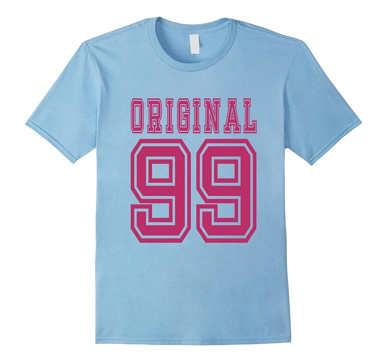 1999 T-shirt 18th Birthday Gift 18 Year Old Girl B-day Cute-TD