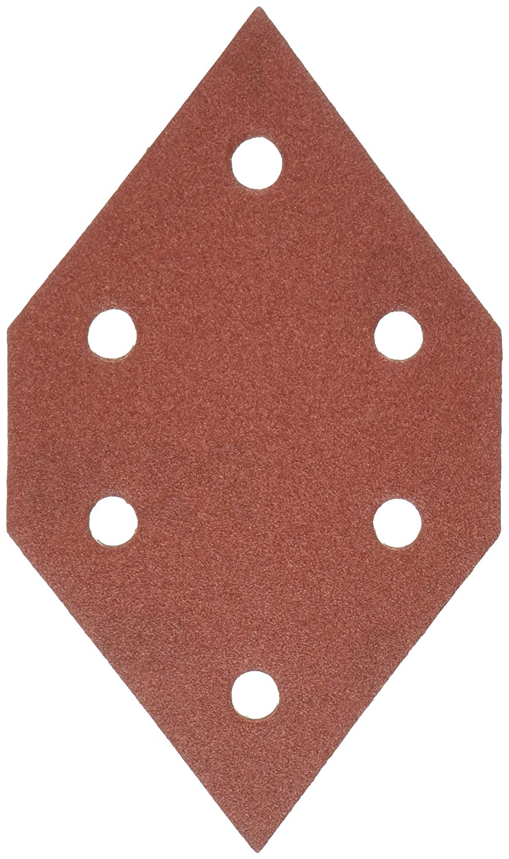 PORTER-CABLE 767602205 220 Grit Diamond-Shaped Hook & Loop Profile Sanding Sheets (5-Pack)