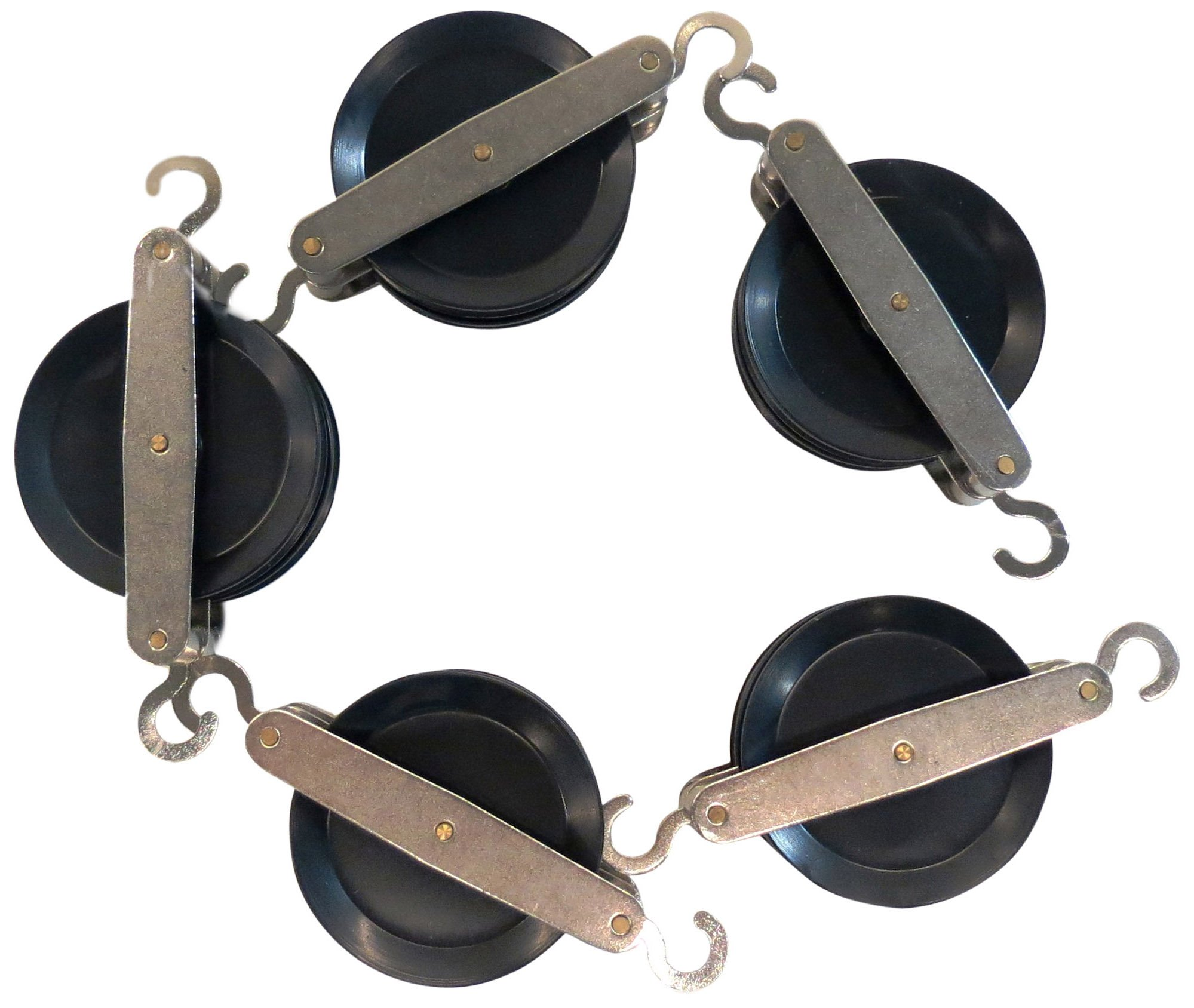 hand2mind Double Pulley, Set of 5