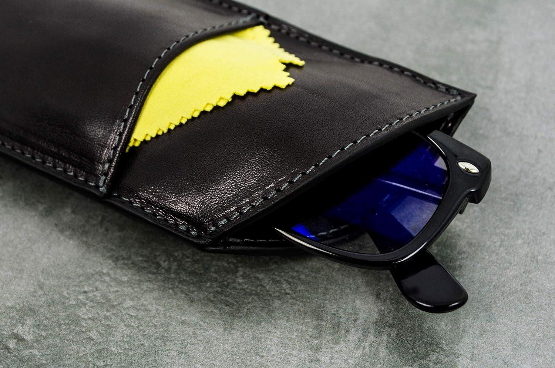 Cien a/ños de soledad Timere Resistance Funda para gafas de cuero negro
