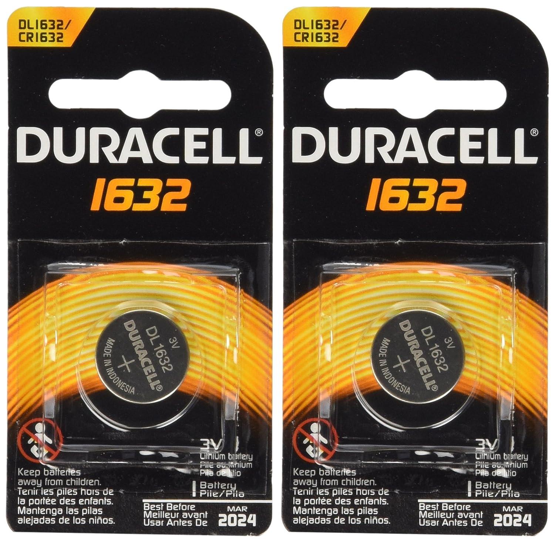 2 Pcs Duracell CR1632 1632 Car Remote Batteries Amazon Health