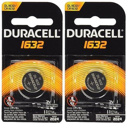 Prius Key Battery >> 2 Pcs Duracell Cr1632 1632 Car Remote Batteries