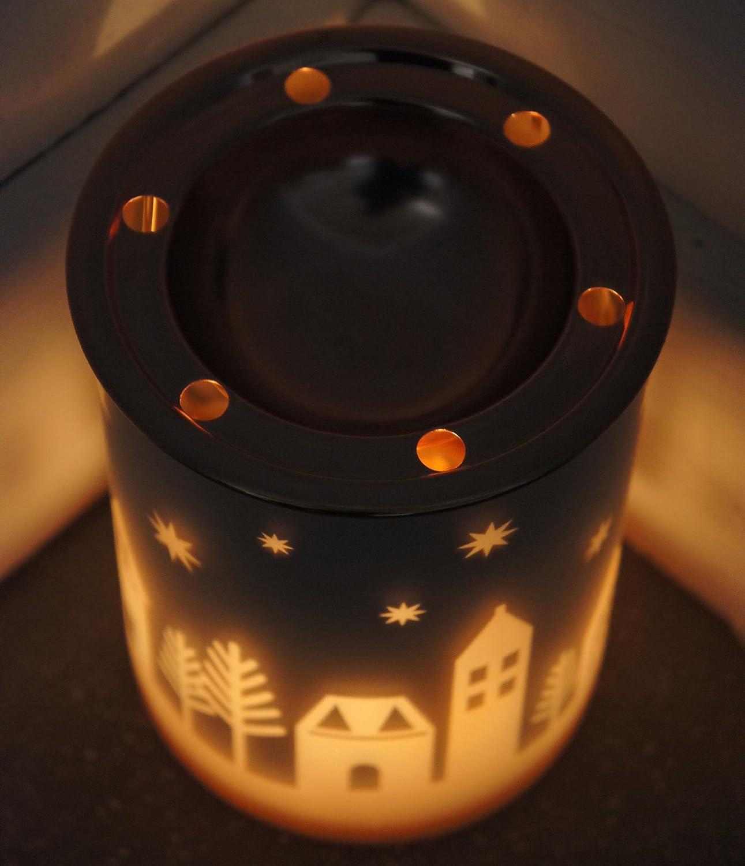 Yankee Candle - Juego de 4 Velas de Cera de Navidad con Aroma a Vela: Amazon.es: Hogar