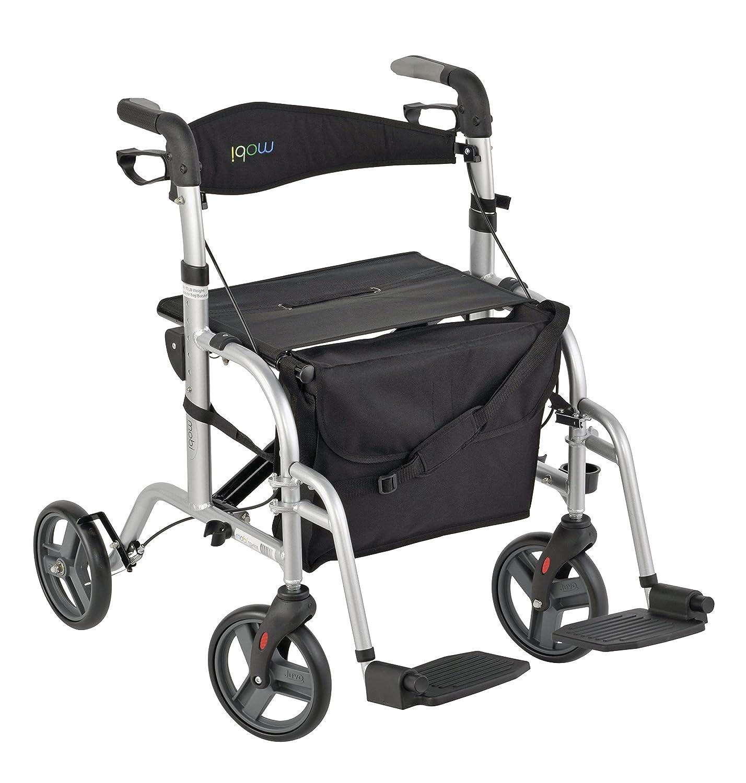 Amazon Juvo Convertible Rollator Transport Chair 250 Pound
