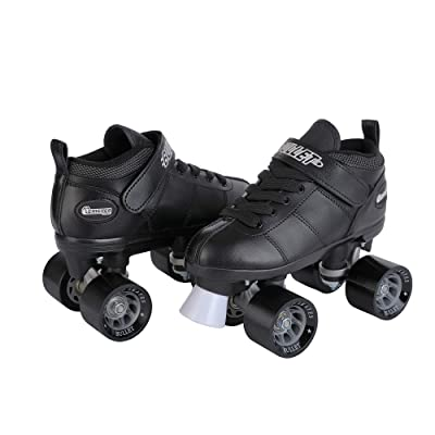 Chicago Bullet Men's Speed Roller Skate - Black : Speed Roller Skates : Sports & Outdoors