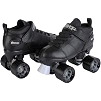 Chicago Bullet Speed - Patines para Hombre, Color Negro