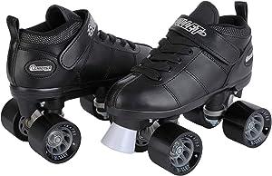 Chicago Bullet Men's Speed Roller Skate - Black