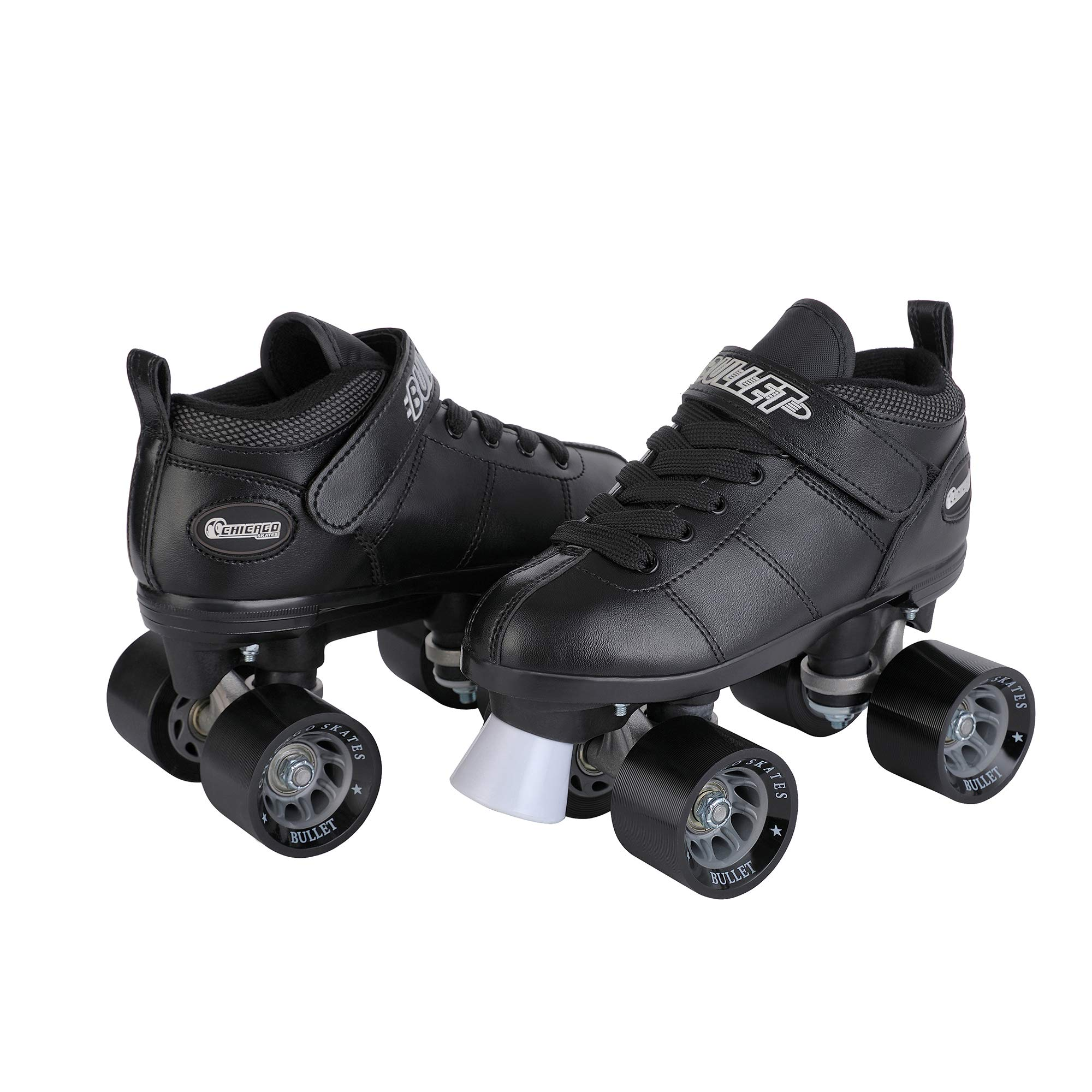 Chicago Bullet Men's Speed Roller Skate -Black Size 4 by Chicago Skates (Image #1)