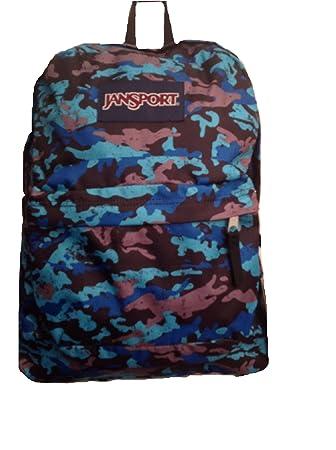 JanSport Classic Superbreak Backpack Blinded Blue S Camo