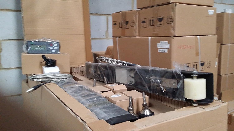 WB-2500 -- 2500 KG x 0,5 KG parejas de barras pesadoras robustas y versátiles, ganado, jaulas de animales, industria pesada: Amazon.es: Industria, ...