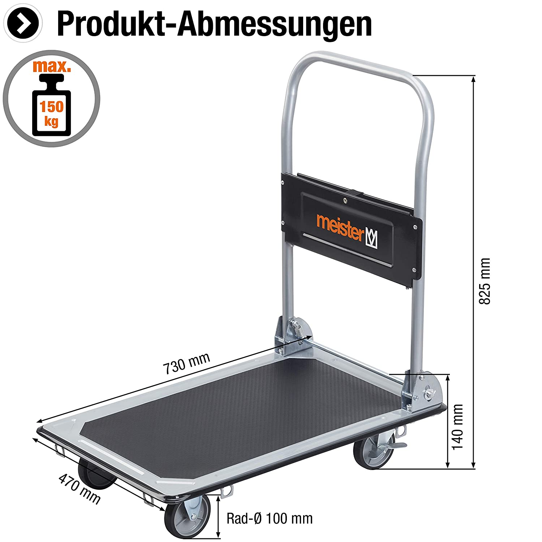 Meister 8985530 - Plataforma de carga: Amazon.es: Industria ...