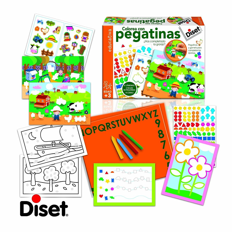 Diset Juego educativo para aprender los colores a partir de 3 años 63628