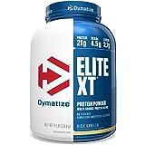 Dymatize Elite XT Protein Powder, Multi-Source Protein, 21g Protein, 4.5g BCAAs & 2.2g L-Leucine, with Slower Absorbing Casei