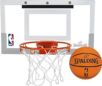 Amazon.com: Mini aro de baloncesto Spalding NBA Slam Jam ...