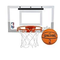 Spalding NBA Slam Jam Over-The-Door Mini Basketball Hoop Aro de mini baloncesto sobre la puerta