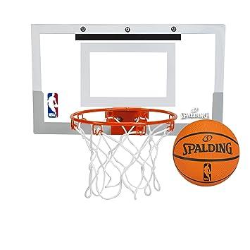 Amazon.com : Spalding NBA Slam Jam Over-The-Door Mini Basketball ...