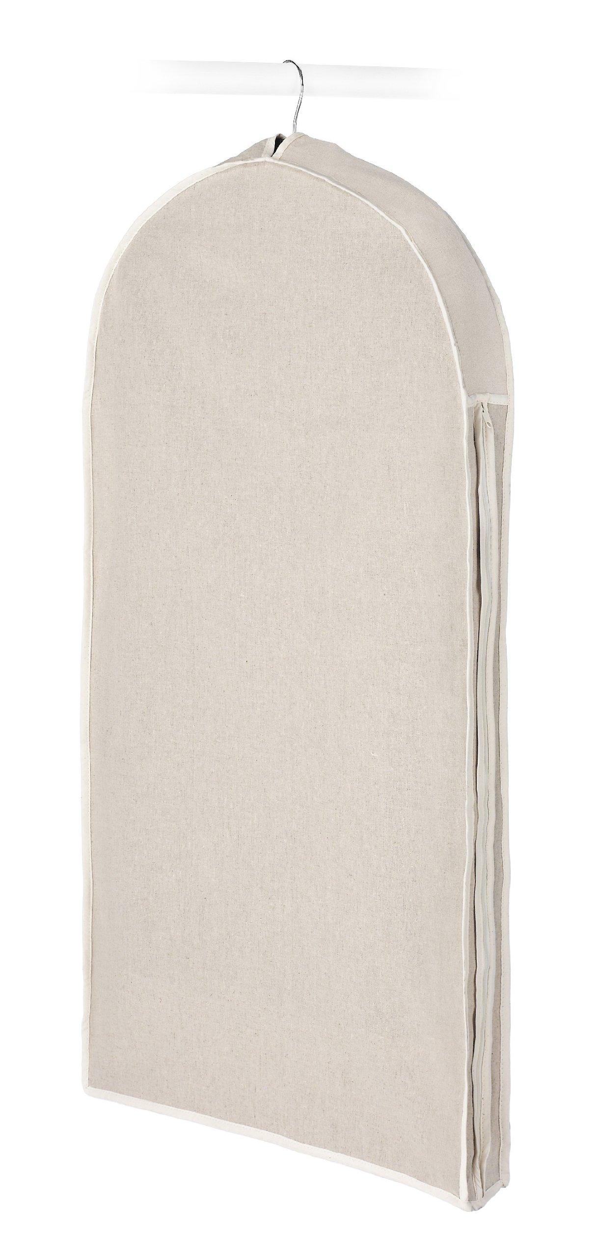 Whitmor Garment Bag, Natural Linen