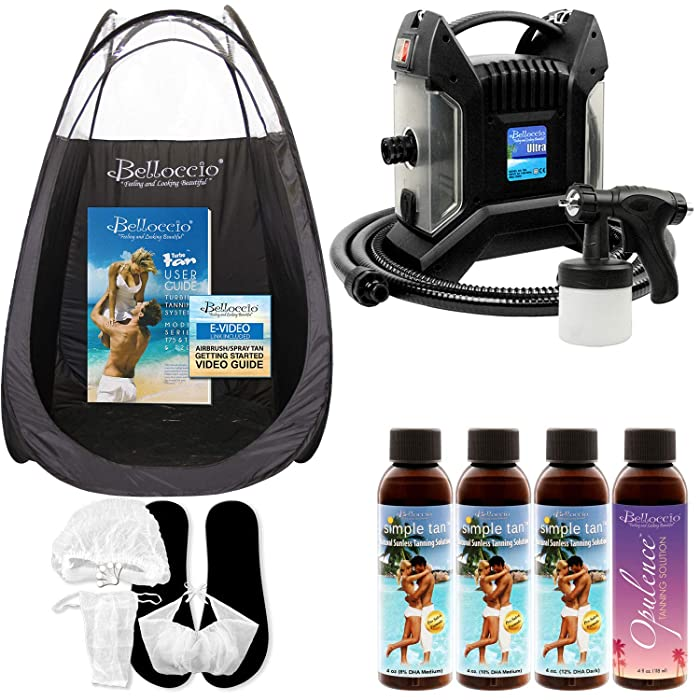 Top 10 Sunless Spray Tanning Home System