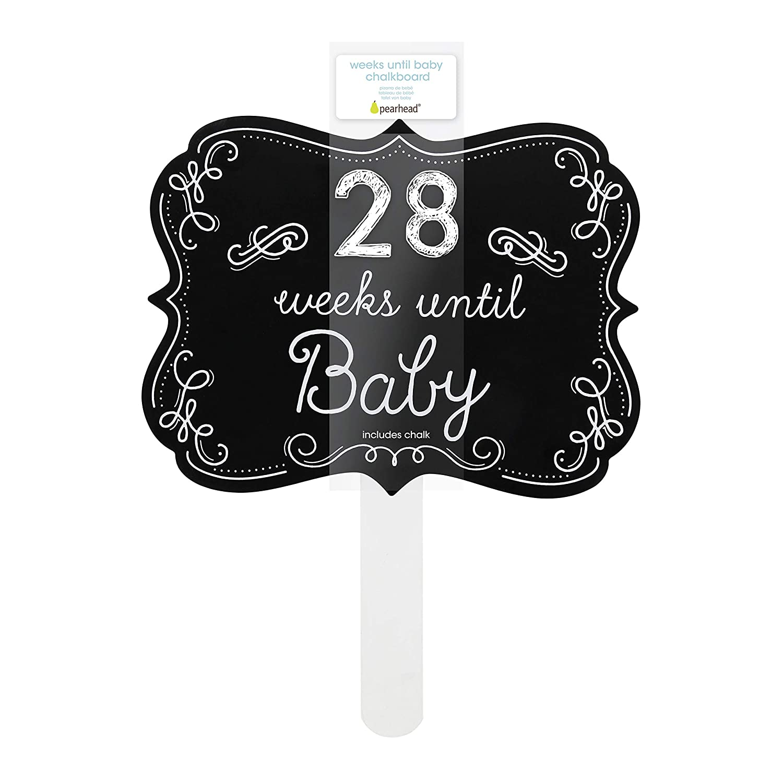 Chalk Style Pearhead Baby is Sleeping Door Hanger Shh Baby Sleeping Sign Nursery D/écor