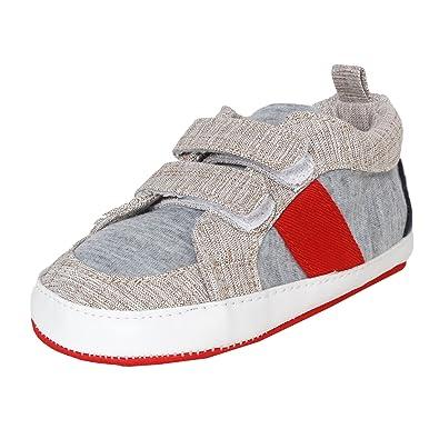 Abdc Kids Infant Boys Grey Shoes Length 13 Cm Age 6