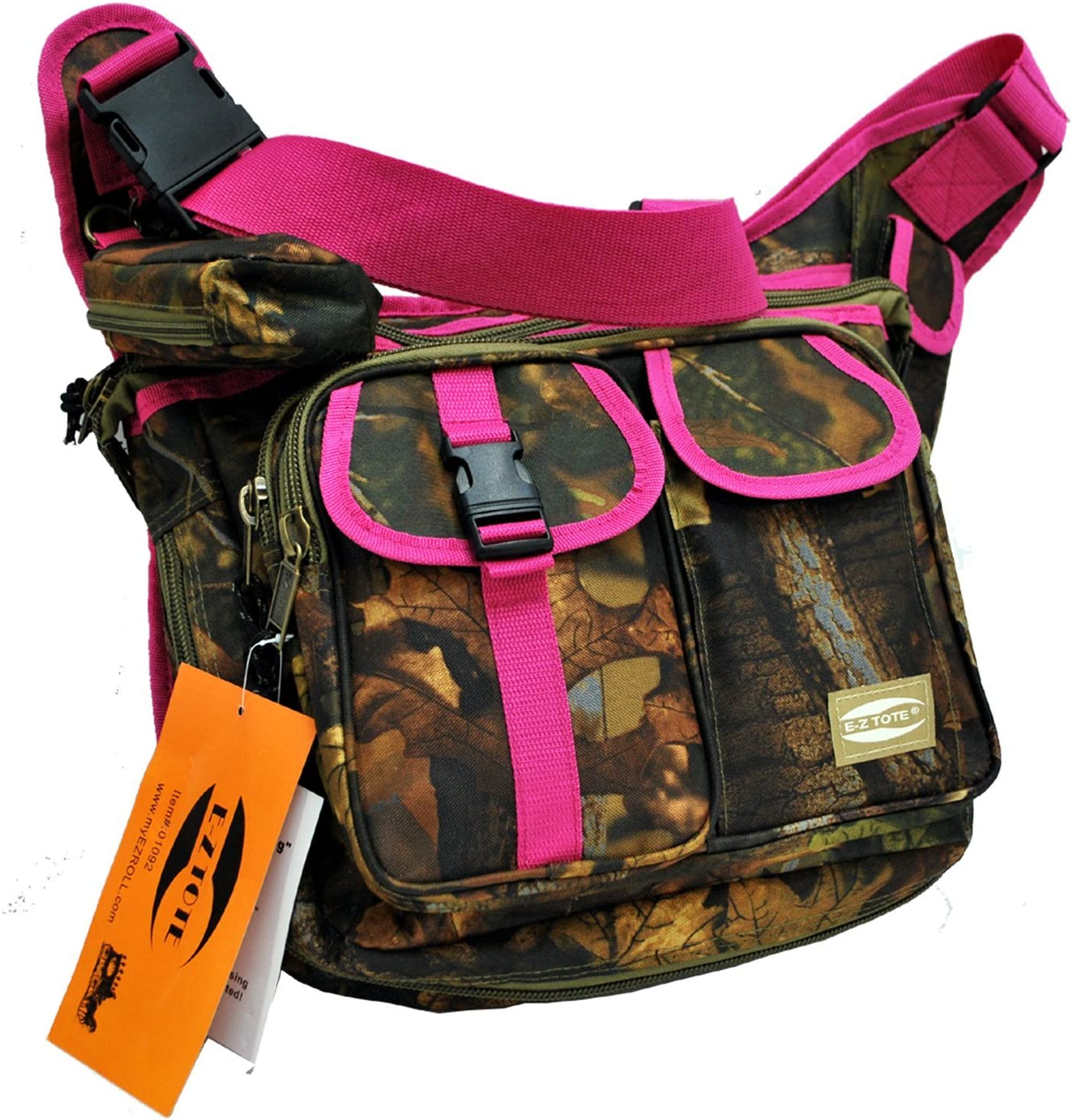 E-Z Tote Real Tree Print Hunting Shoulder Bag in 3 Colors