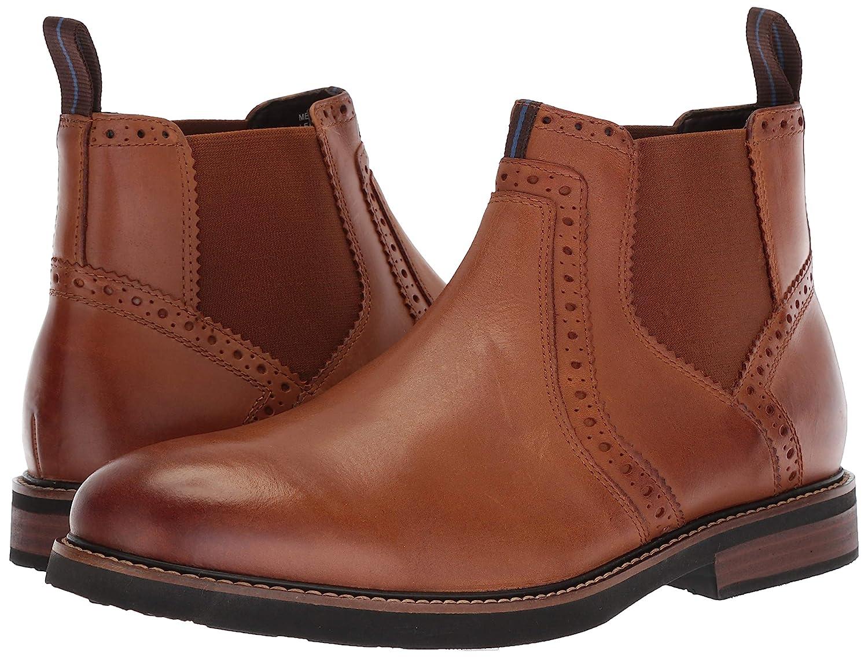 Nunn Bush Mens Otis Classic Chelsea Boot with Comfortable KORE Lightweight Walking Technology