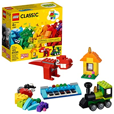 LEGO Classic Bricks and Ideas 11001 Building Kit (123 Pieces): Toys & Games