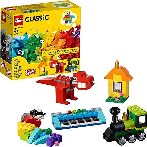 LEGO Classic Bricks and Ideas 11001 Building Kit (123 Pieces)