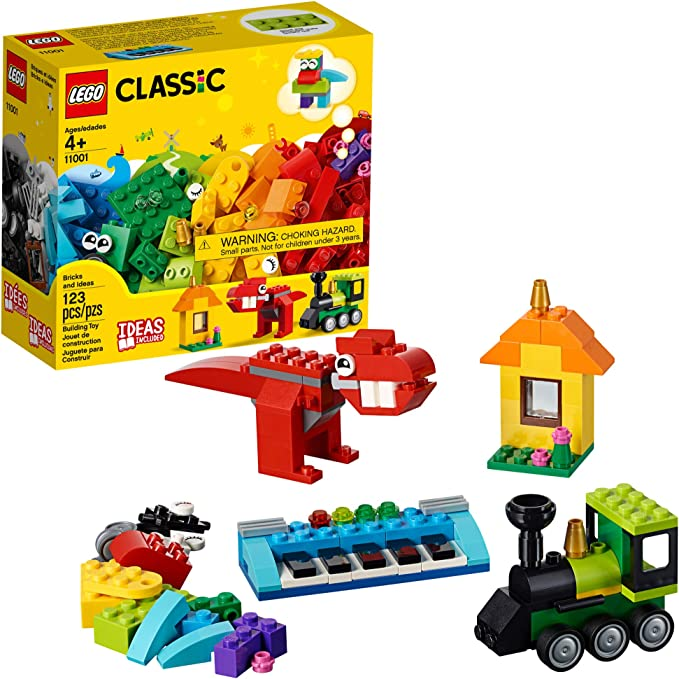 LEGO Classic Bricks and Ideas 11001 Building Kit