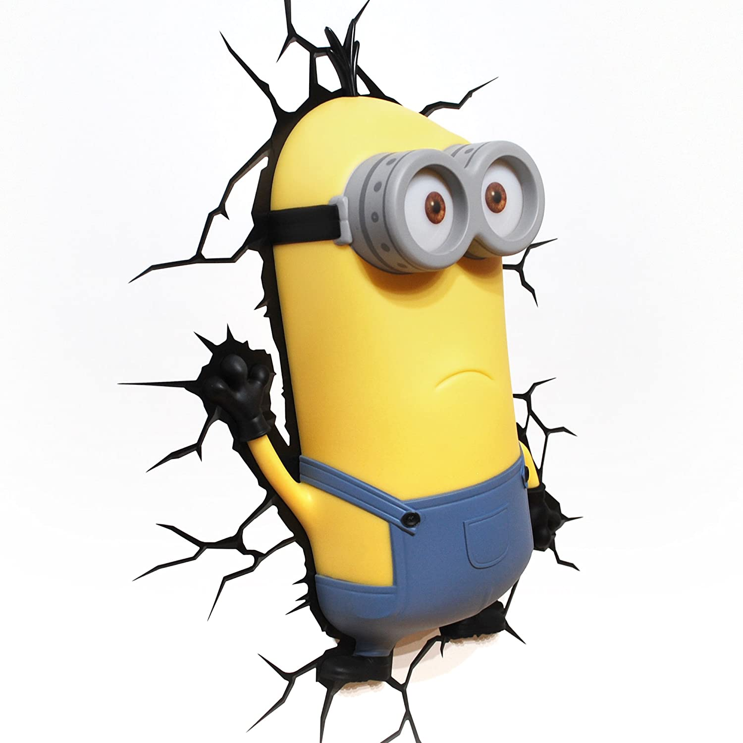Amazon.com: 3DLightFX Minions Kevin 3D Deco Light: Toys & Games