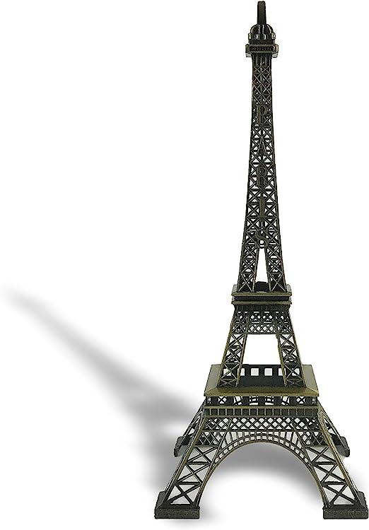 Silver . Allgala 24 Eiffel Tower Statue Decor Alloy Metal