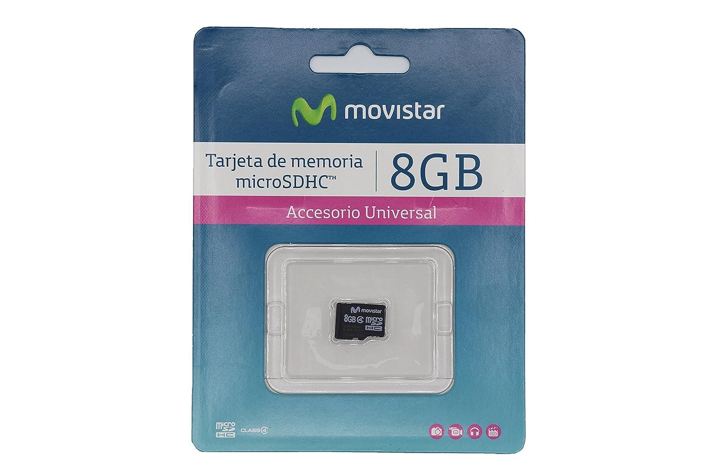 Amazon.com: Transcend Movistar 16GB microSDHC, Class 4 ...