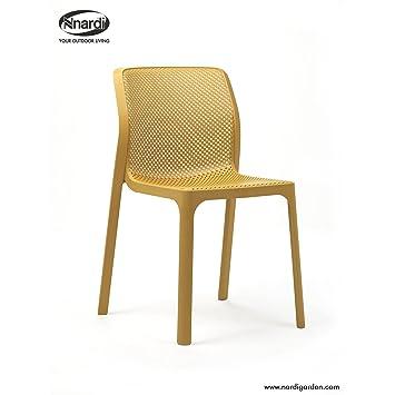 Unbekannt Nardi - Bit Stuhl - senf - Raffaello Galiotto - Design ...